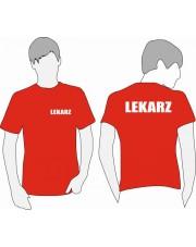 KOSZULKA T-SHIRT JHK LEKARZ